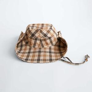 Zara Check Bucket Hat